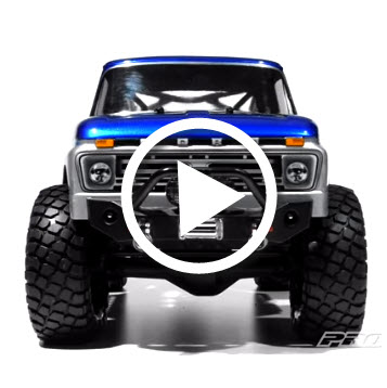 Pro-Line 1966 Ford F-100 Clear Body For The Axial SCX10 Trail Honcho [VIDEO]