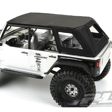 Pro-Line TimberLine Soft-Top For Axial SCX10 Wrangler [VIDEO]