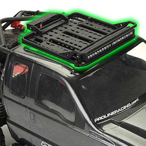 Pro-Line Overland Scale Roof Rack Adds Off-Road Adventure Detail