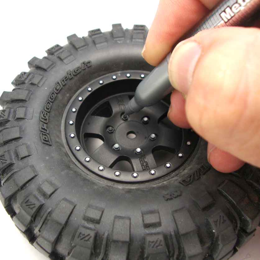 Detail Wheels With a Silver Pen [PIT TIP]