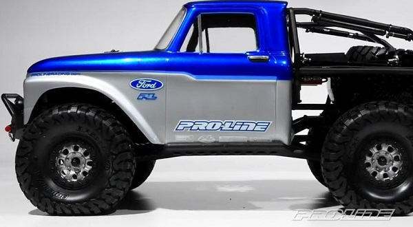 Pro-Line 1966 Ford F-100 Clear Body For The Axial SCX10 Trail Honcho