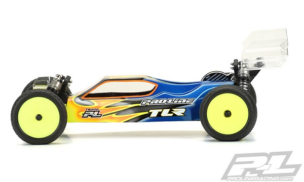 Pro-Line Predator Clear Body For The TLR 22 3.0 (2)