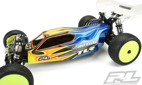 Pro-Line Predator Clear Body For The TLR 22 3.0 (3)