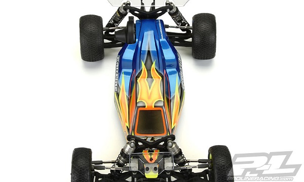 Pro-Line Predator Clear Body For The TLR 22 3.0 (4)