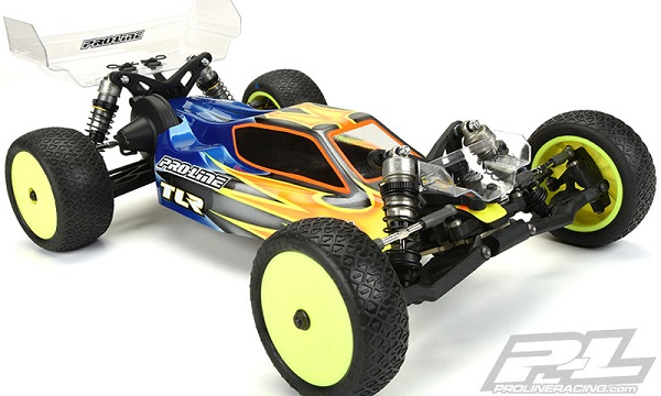 Pro-Line Predator Clear Body For The TLR 22 3.0 (5)