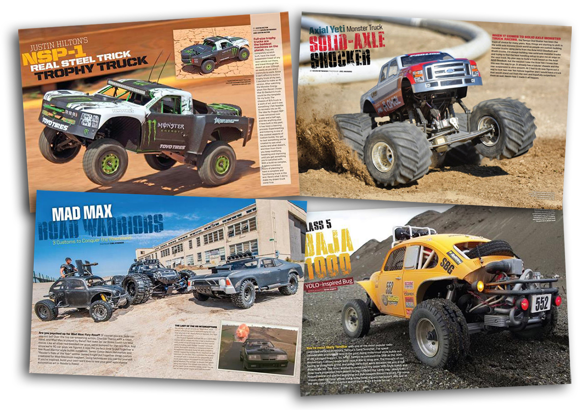 RC Car Action Custom Projects composite