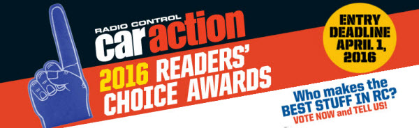 RC car Action Reader's Choice Awards