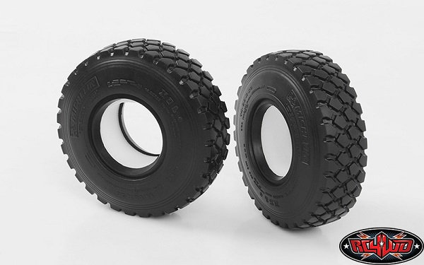 RC4WD Michelin X Force XZL + 14.00 R20 1.9 Scale Tires (3)