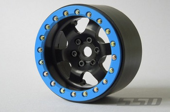 SSD 2.2″ Rock Racer Beadlock Black Wheels