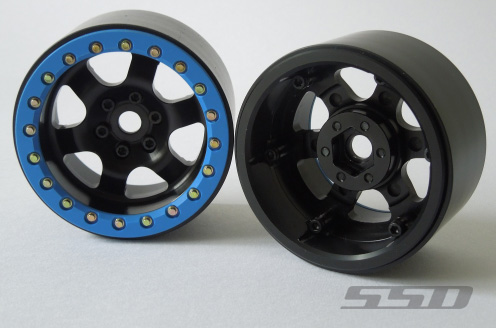 SSD 2.2 Rock Racer Beadlock Black Wheels (2)