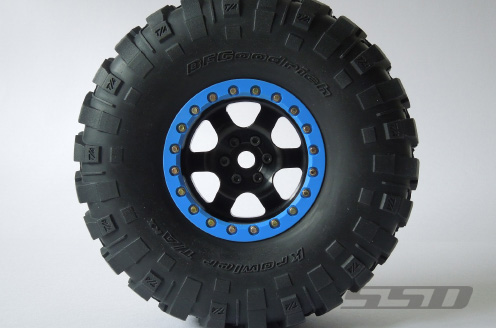 SSD 2.2 Rock Racer Beadlock Black Wheels (3)