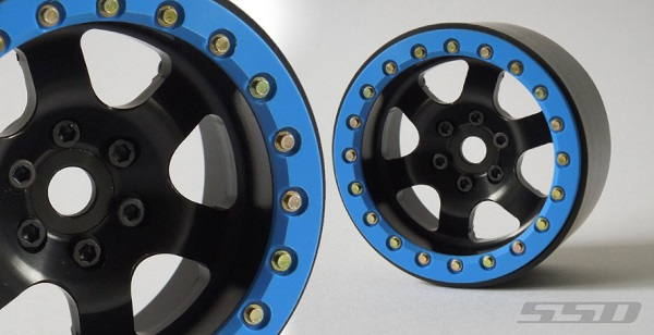 SSD 2.2 Rock Racer Beadlock Black Wheels (5)