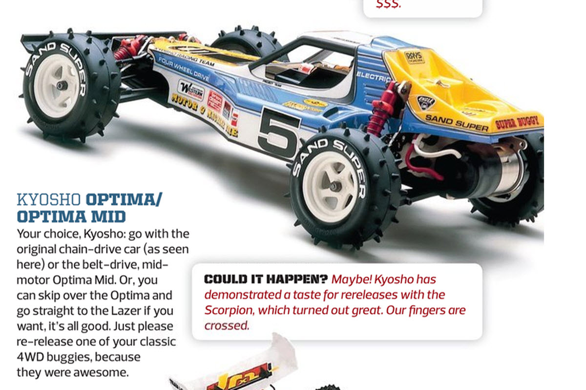 Tailpipe Kyosho Optima