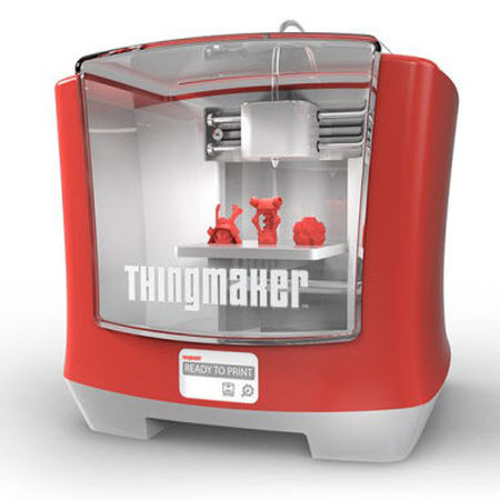 "You May Be 3D Printing Sooner Than You Think: Mattel To Offer $300 ""ThingMaker"""
