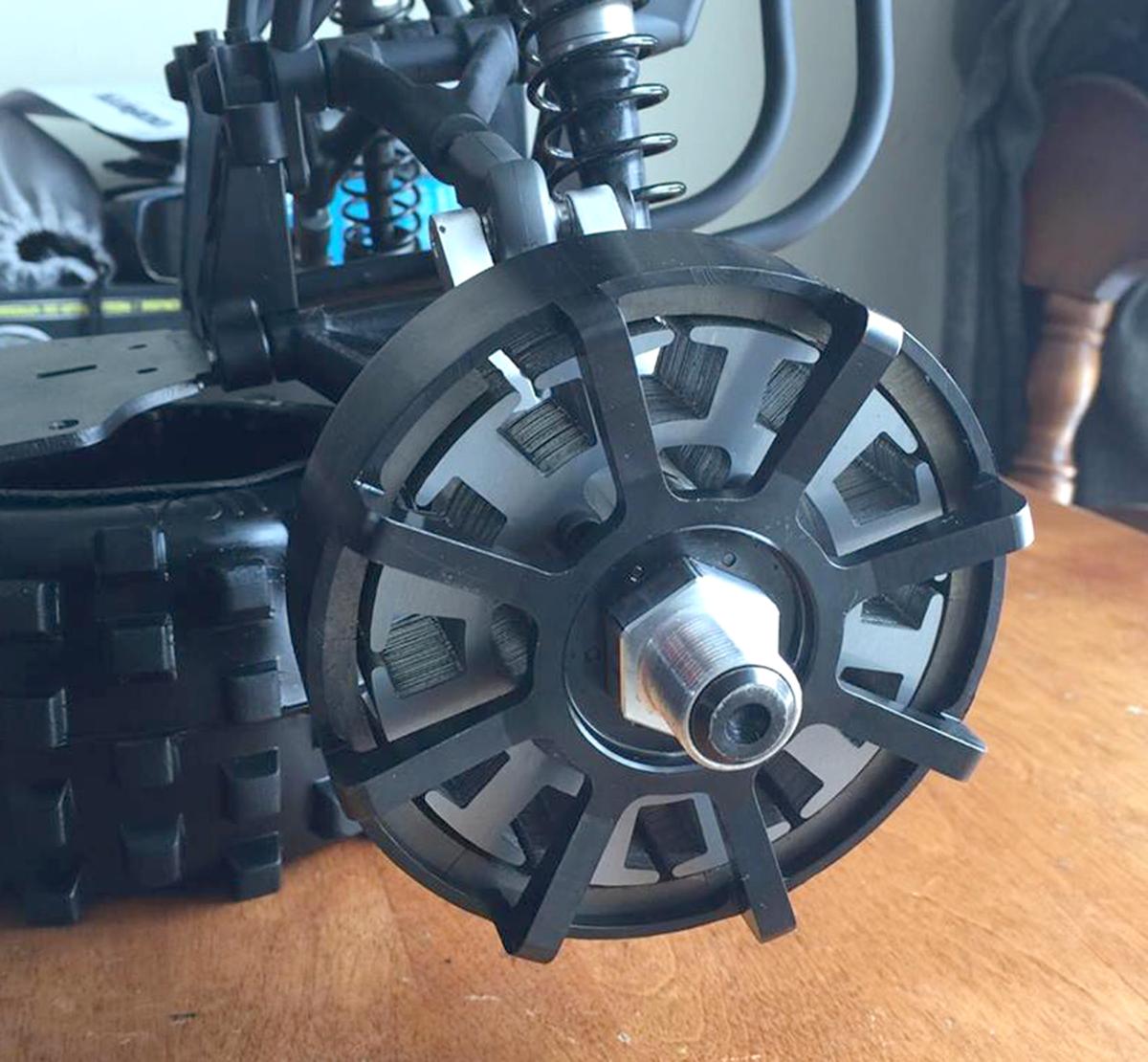 Tidnab brushless motor wheel