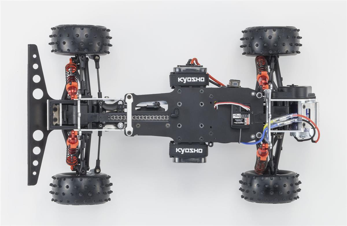 Kyosho Legendary Series Optima rerelease 4WD 4X4 buggy electric vintage