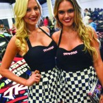 The Traxxas girls were once again in attendance at the 2016 RCX.