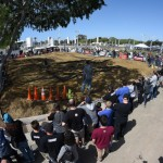 The outdoor dirt track provided weekend long electric and nitro racing for RC racing fans and spectators.