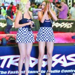 Even the Traxxas girls were getting in to the spirit.