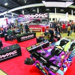 Another view of the Traxxas booth.