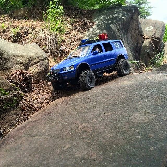 Axial SCX10, Volvo XC90, RC4WD, Gear Head RC, crawler