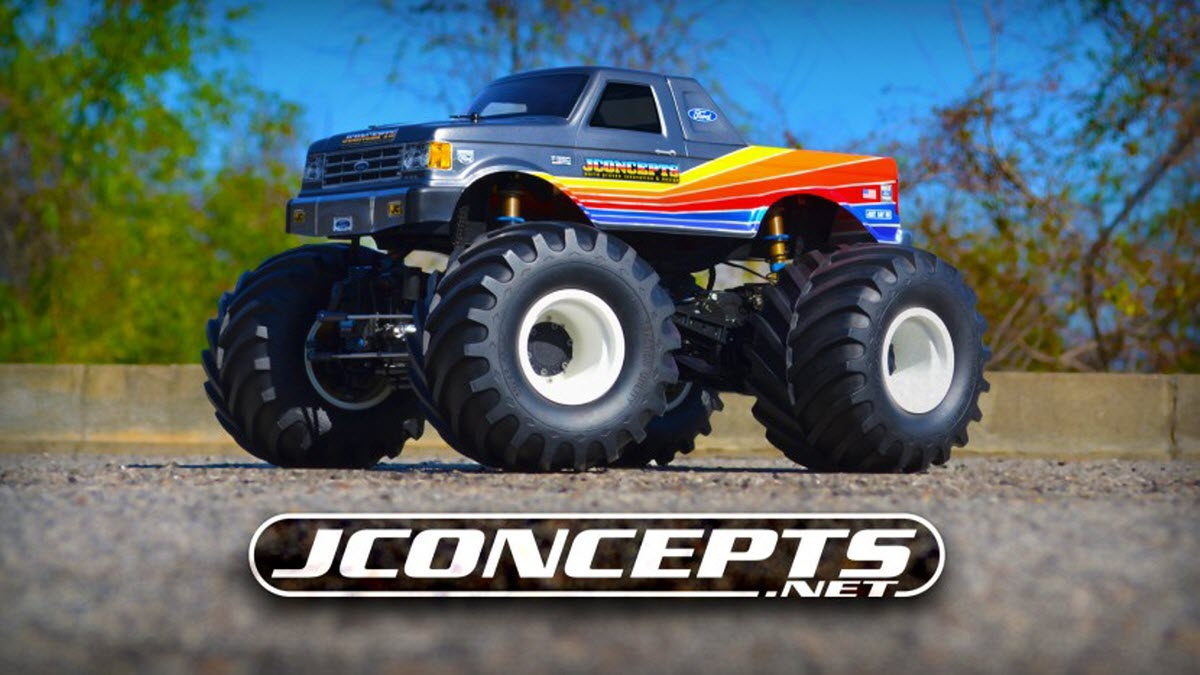 Jconcepts Introduces 1989 Ford F 250 Monster Truck Body