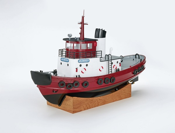 AquaCraft RTR Atlantic II Tugboat Now Includes TTX491 4-Channel 2.4GHz Radio
