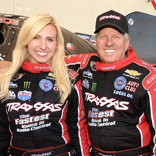 Meet NHRA Superstars Courtney & John Force at RCX!