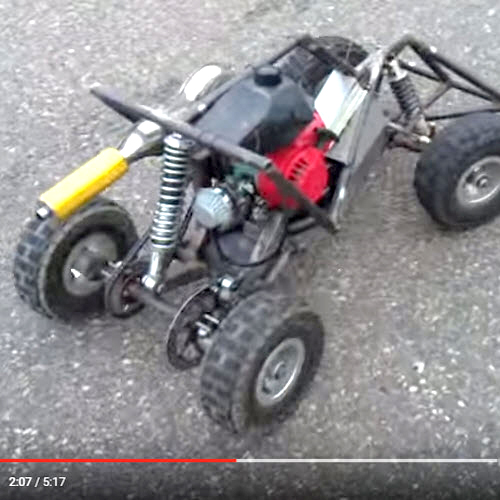Check Out This Home-Built, Gas-Powered Frankenbuggy [VIDEO]