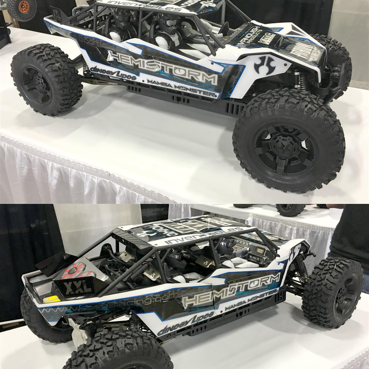 HemiStorm's 4-Seater Axial Yeti XL Blew Us Away at RCX