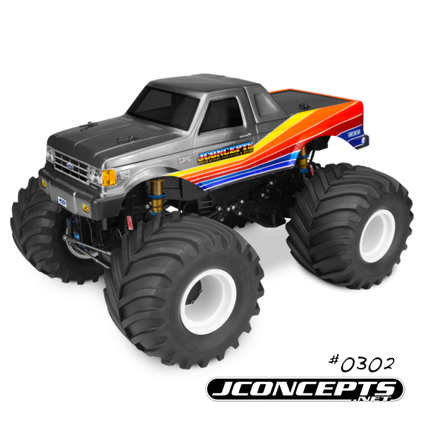 JConcepts 1989 Ford F-250 Monster Truck Body (6)