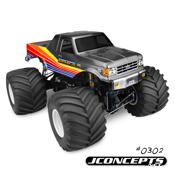 JConcepts 1989 Ford F-250 Monster Truck Body (8)