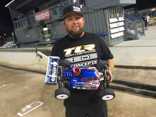 TLR's Ryan Maifield takes the prestigious win in Pro Buggy at the 2016 Silver State. (photo: Maifield)