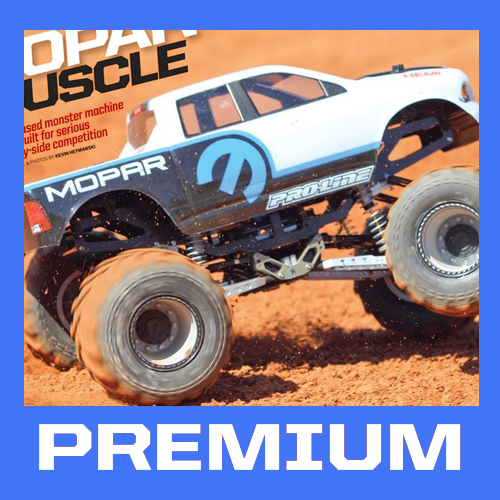 Premium Members Sneak Peak: Mopar Muscle Axial Monster Build