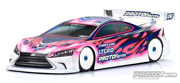 PROTOform LTC 2.0 Clear Body For 190mm Touring Cars (1)