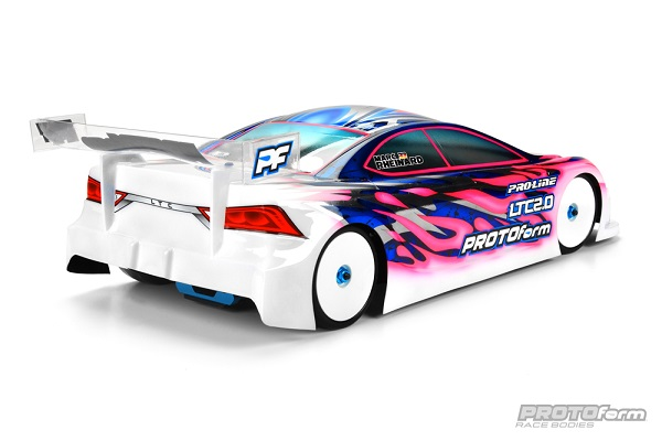 PROTOform LTC 2.0 Clear Body For 190mm Touring Cars (4)