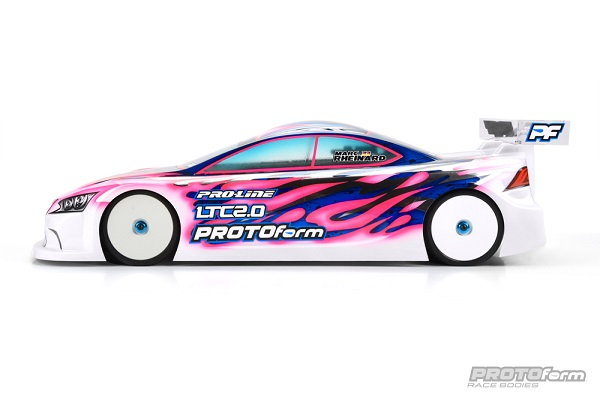 PROTOform LTC 2.0 Clear Body For 190mm Touring Cars (5)