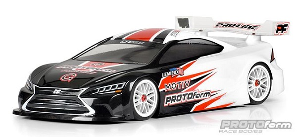 PROTOform LTC 2.0 Clear Body For 190mm Touring Cars (6)