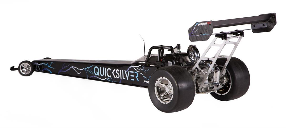 Primal RC's Quicksilver 1/5 Scale RTR Dragster is 5 Feet of Gas-Racing Action - RC Car Action