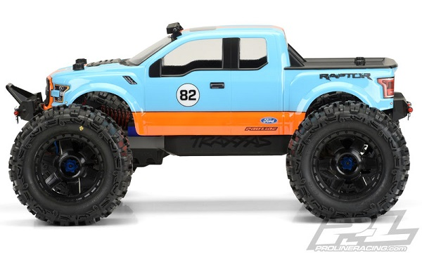 Pro-Line 2017 Ford F-150 Raptor Clear Body (2)
