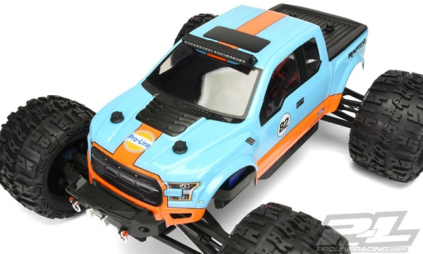 Pro-Line 2017 Ford F-150 Raptor Clear Body (4)