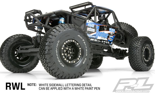 Pro-Line BFGoodrich All-terrain KO2 2.2 G8 Rock Terrain Truck Tires (5)
