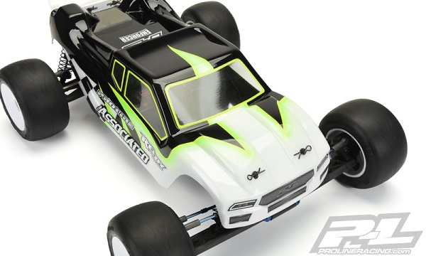 Pro-Line Enforcer Clear Body For The Team Associated T5M (5)