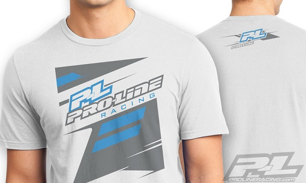 Pro-Line P-L Race Tone Silver And Factory Black T-Shirts (1)
