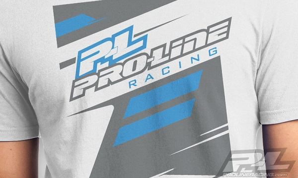 Pro-Line P-L Race Tone Silver And Factory Black T-Shirts (2)