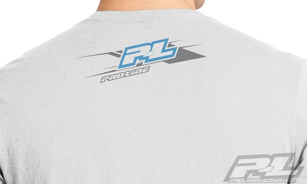 Pro-Line P-L Race Tone Silver And Factory Black T-Shirts (3)