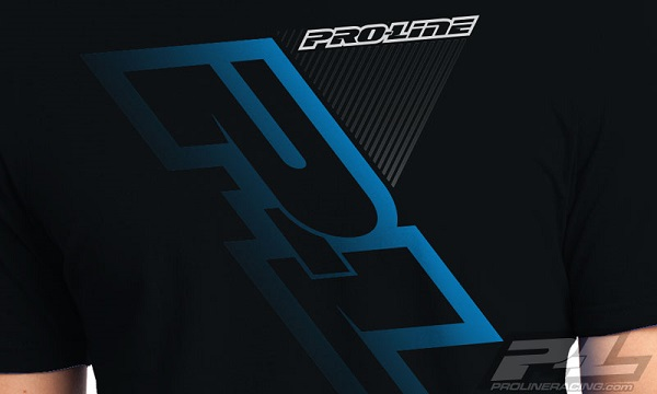 Pro-Line P-L Race Tone Silver And Factory Black T-Shirts (5)