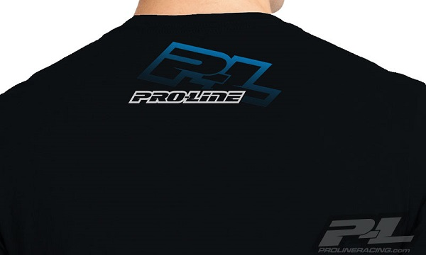 Pro-Line P-L Race Tone Silver And Factory Black T-Shirts (6)