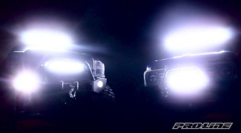 Pro line super bright led light bar kits video rc car action pro line super bright led light bar kits video aloadofball Choice Image
