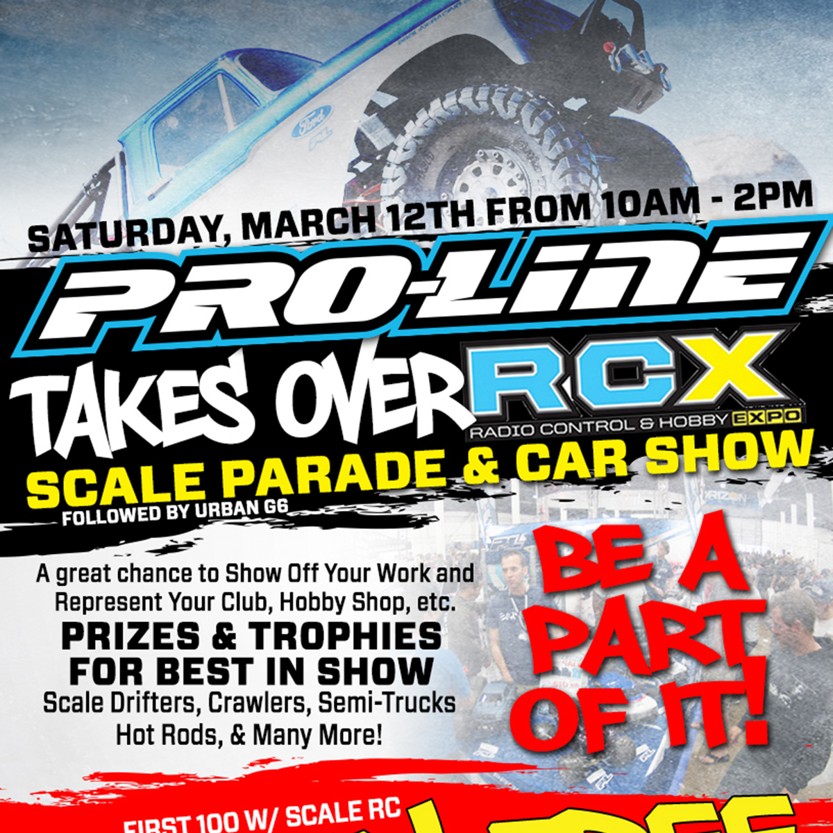 NEW at RCX: Pro-Line Scale Parade & Car Show